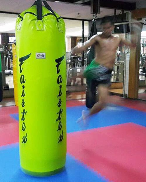 HEAVY BAG FAIRTEXHB7 7 FEETS  MUAY THAI MMA K1 SHIPS BY DHL EXPRESS UN-FILLED