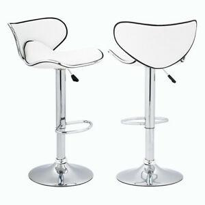 Image Is Loading Swivel Bar Stools Adjustable Height Counter Stools W
