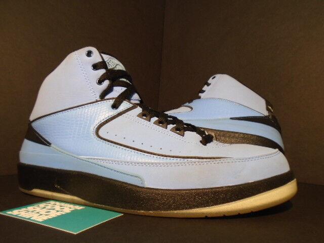 2018 Nike Jordan 2 Retro QF Air Universidad 395709401 Azul II Negro Blanco 395709401 Universidad 9.5 c8df6b