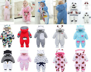 27db4169bd43 newborn baby winter warm padded clothes baby girls boys winter thick ...