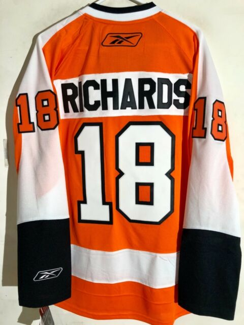 71a8a43c364 Reebok Premier NHL Jersey Philadelphia Flyers Mike Richards Orange sz L