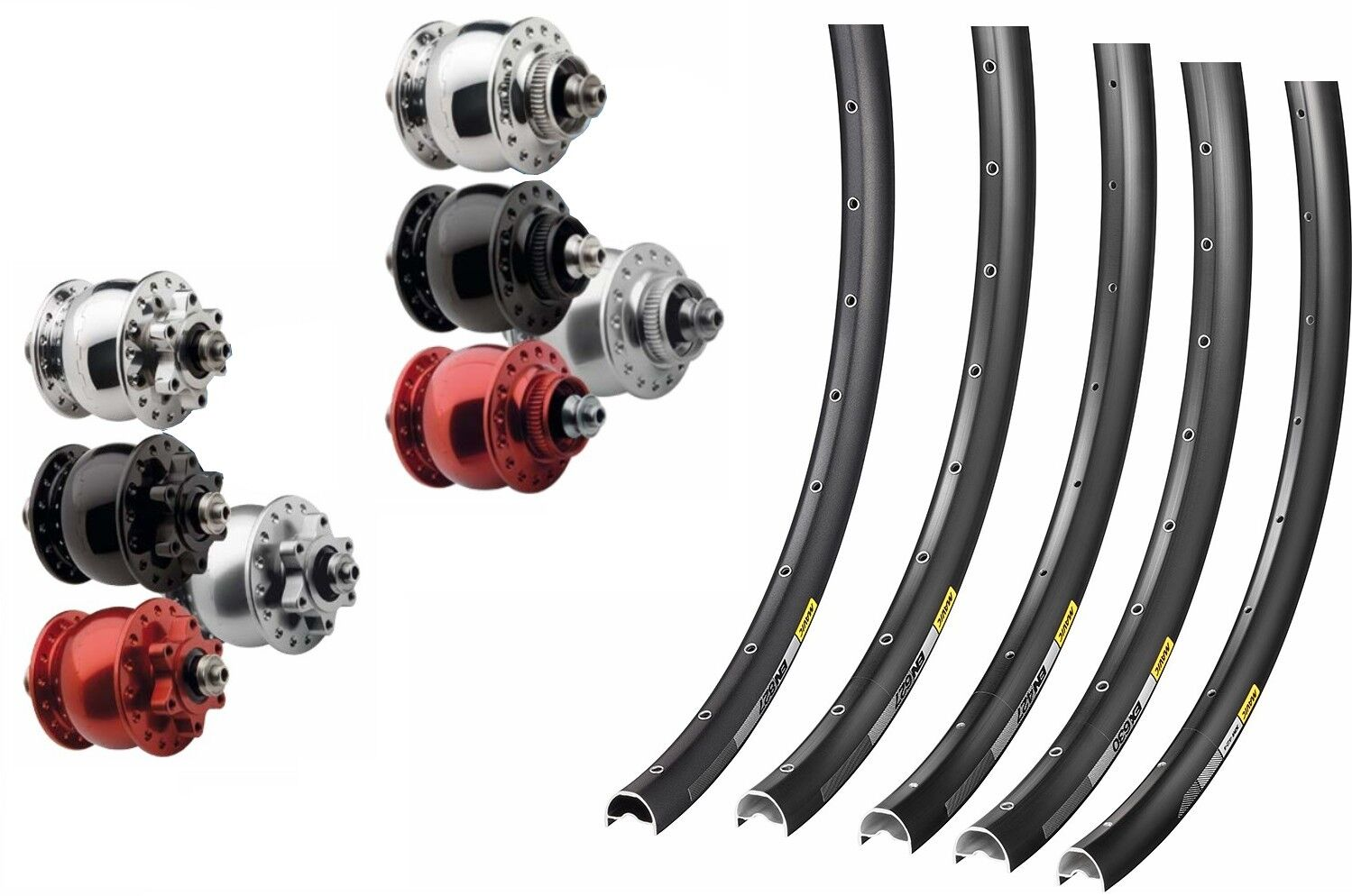 29er 650b Front Wheel Hub Dynamo 28 Diverse Rims Mavic XM   en   XC