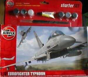 +++ Eurofighter Typhoon + échelle 1:72 Set By Airfix +++-afficher Le Titre D'origine