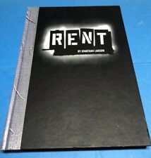 Rent by Jonathan Larson (1997, Hardcover)