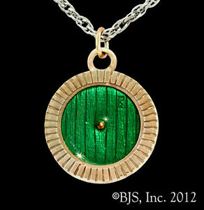 Bronze-Bag-End-Door-Necklace-Hobbit-Hole-Door-Pendant-Hobbit-Jewelry-Tolkien
