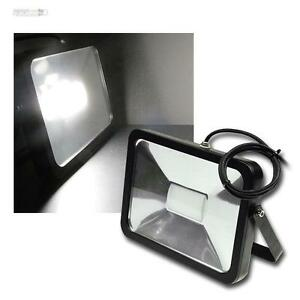 50W-LED-Fluter-12-24V-DC-IP65-daylight-zB-an-Lkw-Flutlichtstrahler-HP-Strahler