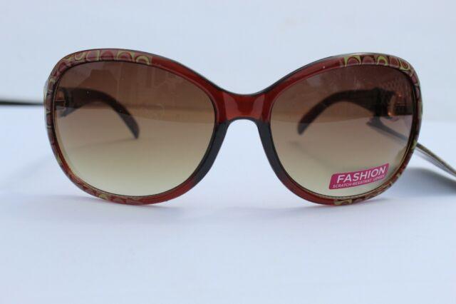 Foster Grant Womens Sunglasses Heart Clear Pink Frame Beauty Lab UV Maxblock
