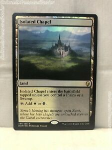 ** Isolated Chapel ** x1 NM MTG Dominaria DOM Magic The Gathering