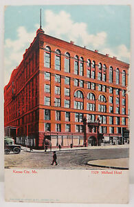 Kansas-City-Midland-Hotel-1908-Series-02-USA-Postcard-Ak-Postcard-A2429