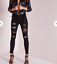 Missguided-Sinner-High-Waisted-Extreme-Rip-Skinny-Jeans-30-UK-20-22-amp-24-Q20 thumbnail 1