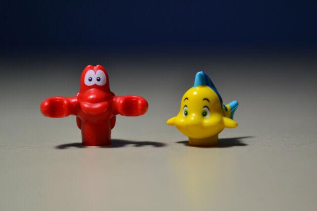 Lego Disney Princess MiniFigure Fish Flounder from set 41050 New