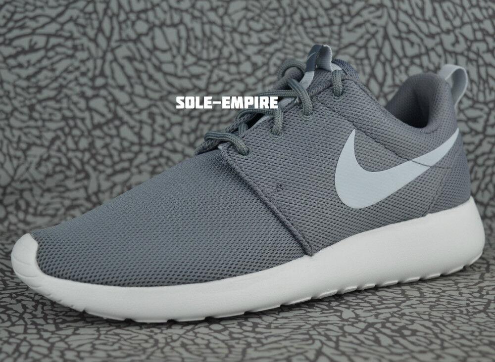 Nike WMNS Roshe One 844994-003 Cool Grey Pure Platinum Mesh Mesh Mesh Running shoes NEW 583c26