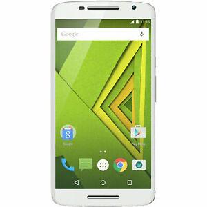MOTOROLA Moto X Play Smartphone 16GB 2GB RAM Weiß wie NEU in OVP