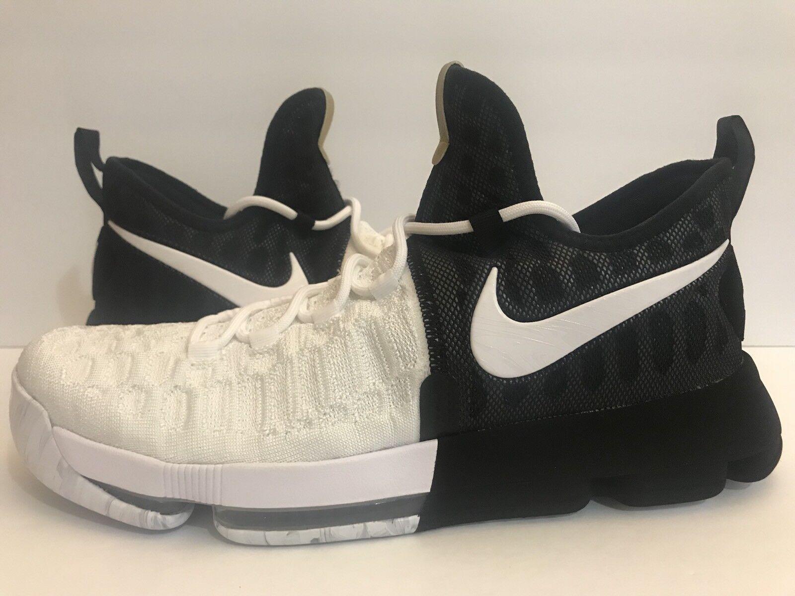 Nike zoom kd9 bhm limitata nero history month nero / bianco 860637-100 sz