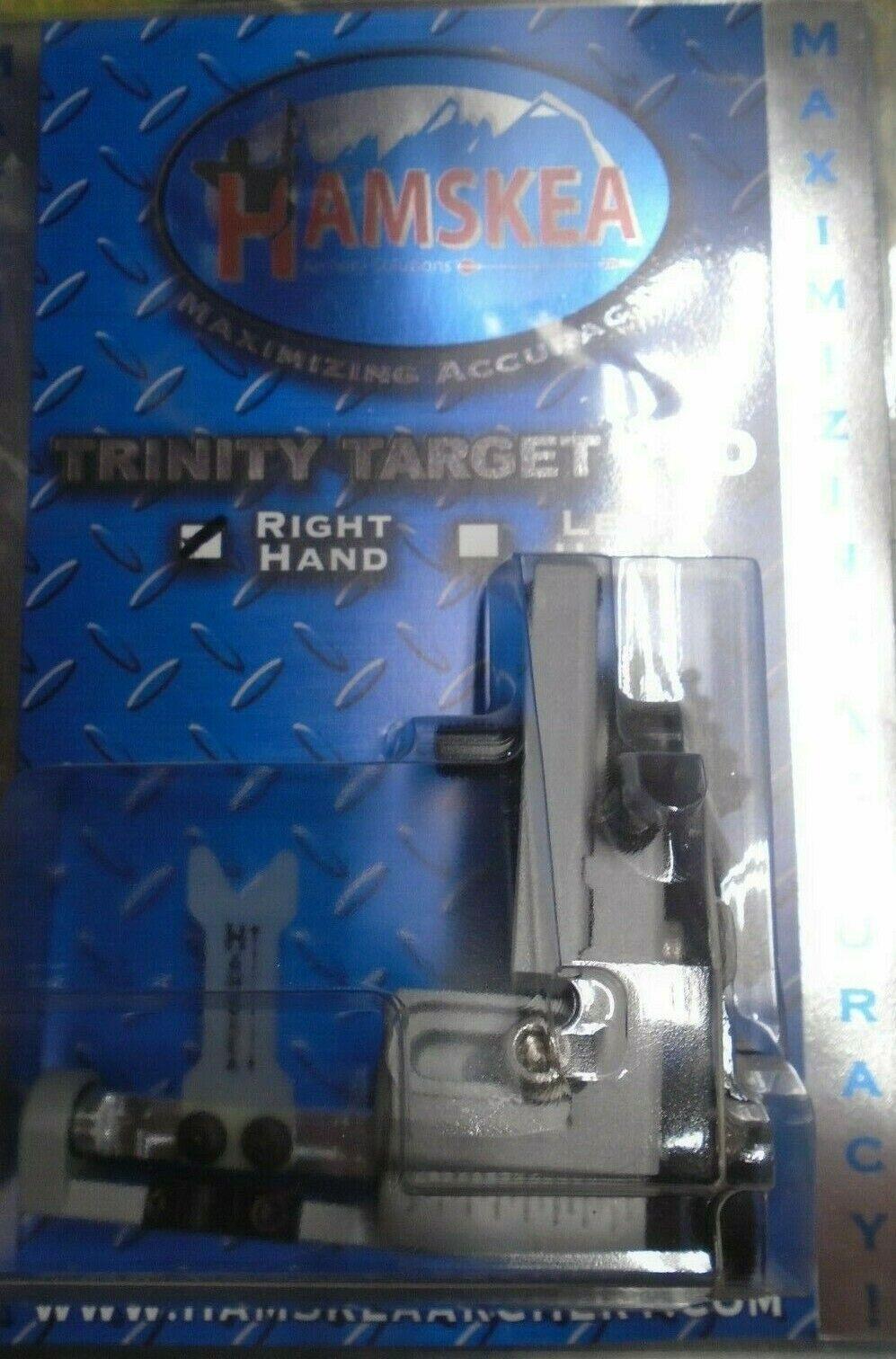 Nuevo @ hamskea Trinity Target Pro micro-ajustable gota-lejos resto De Flecha Plata diestros