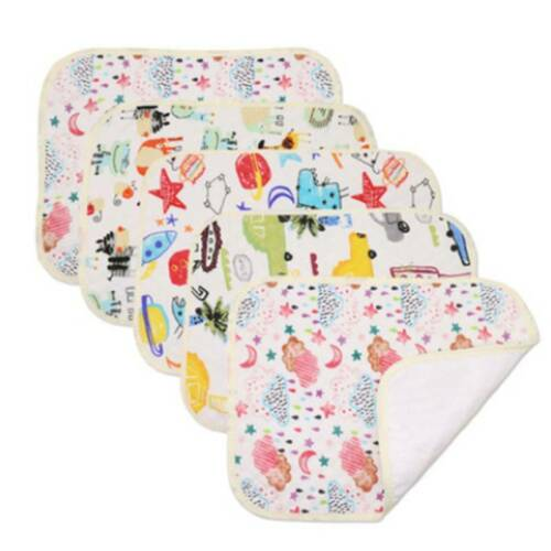 Printed Changing Mat Waterproof Nappy Diaper Replacement Pads Foldable N7