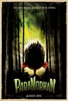 Paranorman Original Double-sided Advance Rolled Movie Poster 27x40 2012