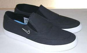 hot sale online 1f75c c16c2 Details zu NIKE SB PORTMORE II SLR SLP C schwarze Sneaker Slipper Gr. EUR 46