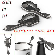 Outdoor Tool EDC U-shaped Buckle Stainless Steel Key Chain Ring Accessories Rare