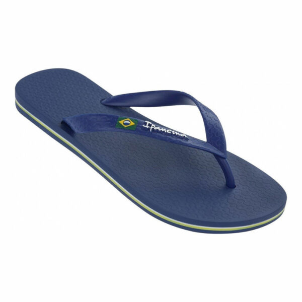 70bd24d6596 Ipanema Men`s Flip Flops Arpoador Palm Sandal Black   Grey Brazilian Sandals  NWT