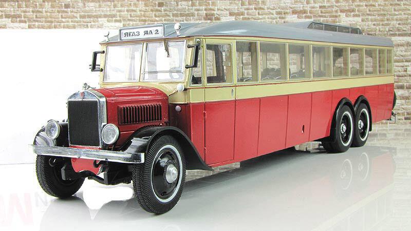 1 43 ultra models yaa 2 yagaz Yaz gigant 1934 Soviet autobús USSR um43-a4-2