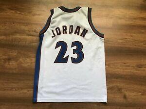 huge selection of 980f7 65453 Details about NBA WASHINGTON WIZARDS BASKETBALL SHIRT JERSEY CHAMPION #23  MICHAEL JORDAN