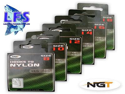 10x middy hair carp barbless hair rigs to nylon 12 14 16 18 match fishing 73