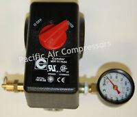 Pressure Switch Kit Coleman Sandborn Compressor Four Port With On/off Knob