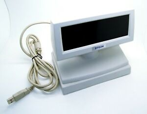 USB-Kassendisplay-Epson-DM-D110-Pantalla-Cliente-M58DC-Customer-Pantalla-Gris