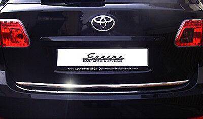 TOYOTA  Avensis Combi T27 Chrom Zierleiste 3M Tuning Heckleiste Kantenschutz
