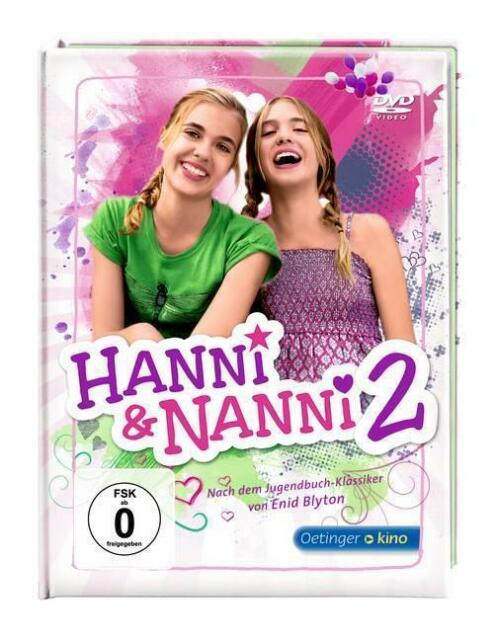 Hanni & Nanni 2 (DVD) (2013) - Special Edition in Buchform