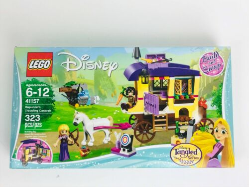 323 Piece LEGO Disney Princess Rapunzel/'s Traveling Caravan 41157 Building Kit