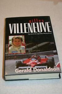 GILLES-VILLENEUVE-BIOGRAPHY-BY-GERALD-DONALDSON-HARDBOUND-348-PAGES-COLOR-IMAGES