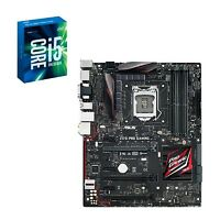 Intel Cpu Core I5-6600k + Asus Motherboard Z170 Pro Gaming Lga1151 Combo
