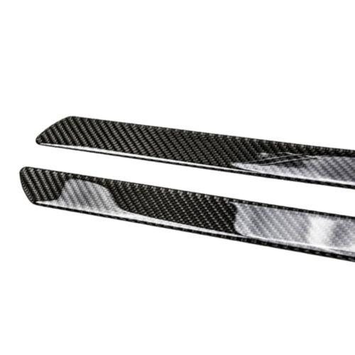 4PCS Car Scuff Plate Door Sill Cover Panel Step Protector Guard 100/%Carbon Fiber