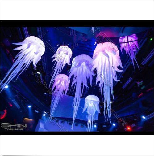 2.5 M Hot Sell Glow gonflable Medusa gonflable méduses Ballon Avec DEL Li UK