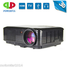 3500lumens Projecteurs 3D Smart 1080p Projecteur Home Cinéma Projecteur HDMI VGA