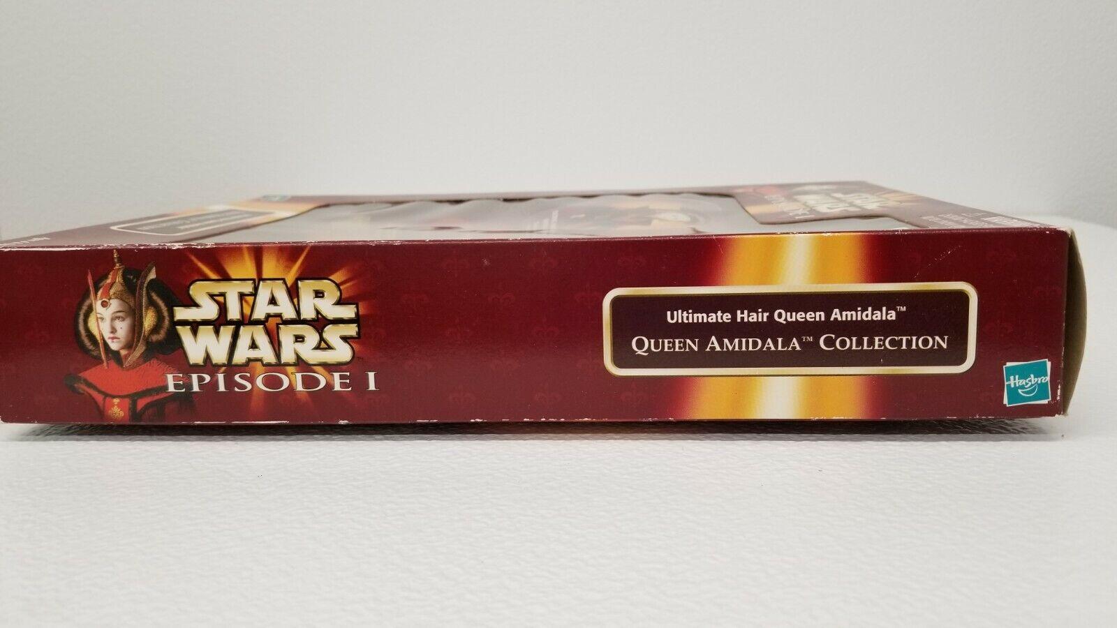 Ultimate Hair Queen Amidala Star Wars Epsod. 1 Queen Amidala Collection NIB NRFB