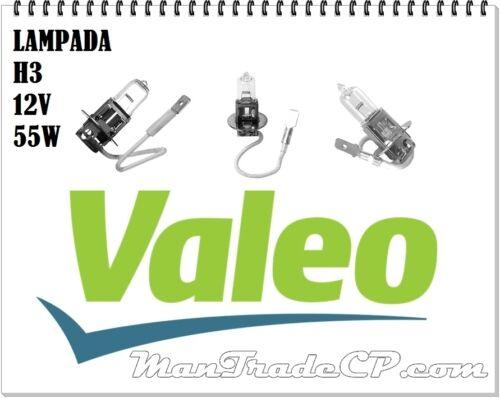 VALEO 032005 LAMPADA LAMPADINA FANALE FARO PRINCIPALE H3 12V 55W KIT 10 PEZZI