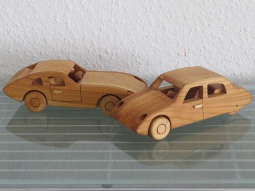 Oldtimer Roadster Limousine UNIKAT Holzauto  Modellauto Auto NEU Holz