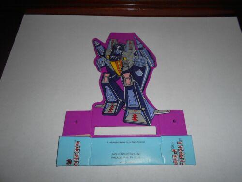 Transformers G1 Skywarp Anniversaire Décoration de Table Lot.. new old stock