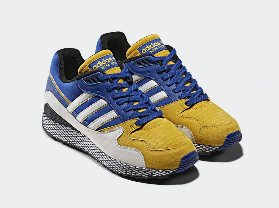 Adidas Original limited collaboration collaboration collaboration dragon ball ULTRA TECH Vegeta SIZE 11 NEW aa308b