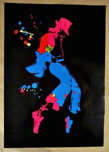 Michael-Jackson-Poster-Nate-Giorgio-Rare-Limited-Circulation-Black-Background