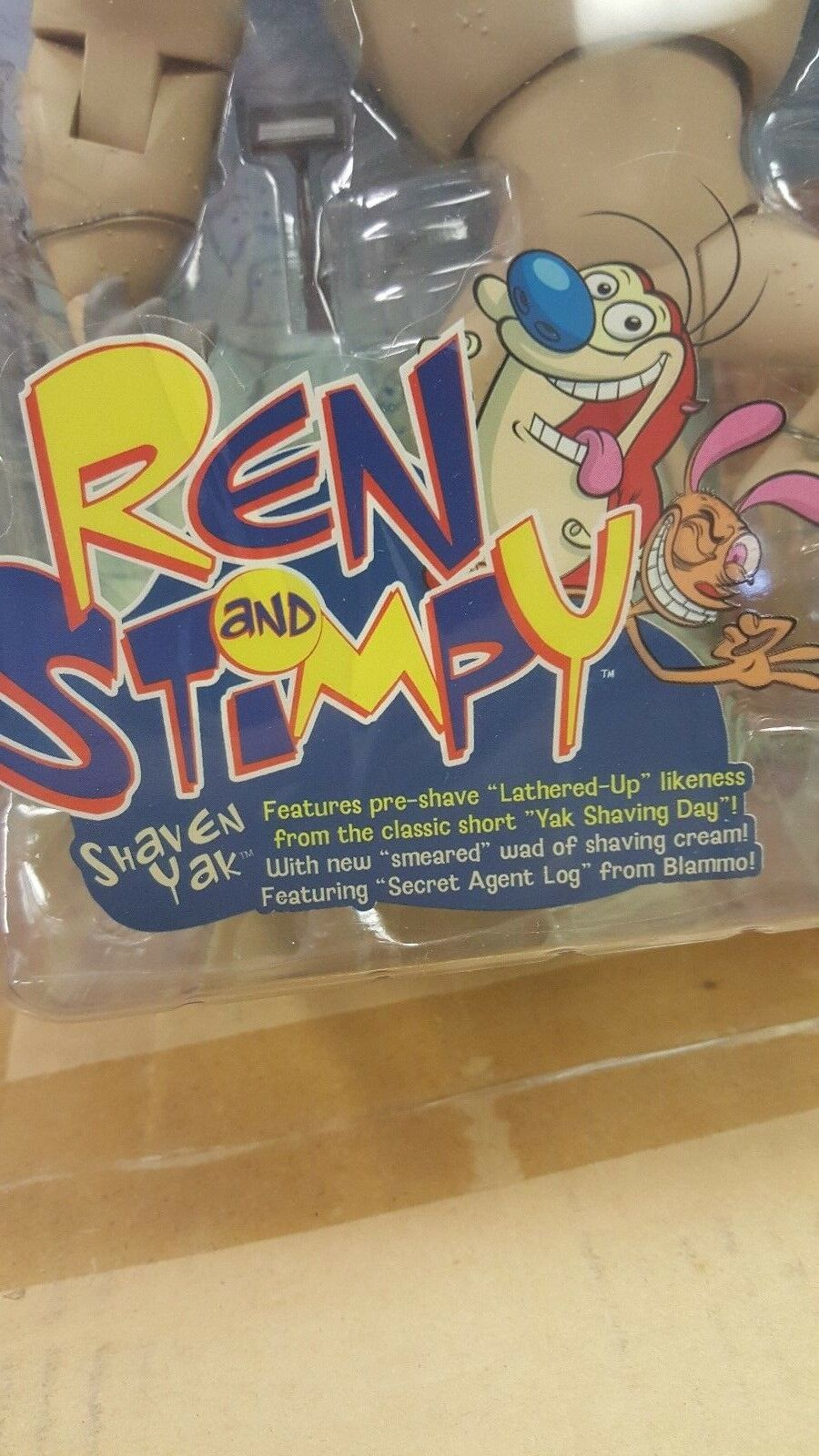 Ren & & & Stimpy SHAVEN YAK from Palisades - NEW c43a7b