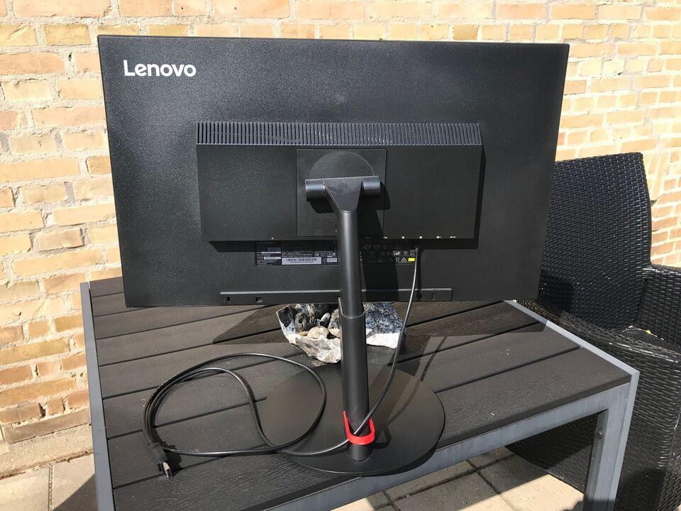 Lenovo ThinkVision, fladskærm, P27q-10