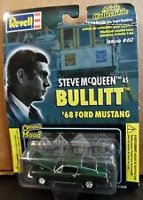 REVELL 68 1968 FORD MUSTANG FASTBACK BULLITT STEVE MCQUEEN AUTH COLLECTIBLE CAR