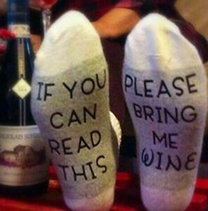 If-You-Can-Read-This-Please-Bring-Me-Wine-Unisex-Lovers-Funny-Letter-Grey-Socks