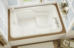Amazon Whirlpool Tub By Maax 2 Person 71 X 48 X 23 Retail 2995 On Sale 1895