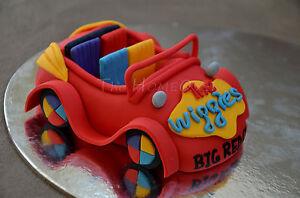 Wiggles D Cake Topper
