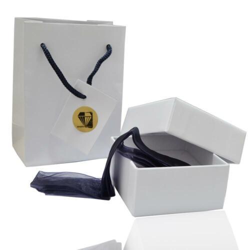 Effetto Oro Anello Trilogy in argento 925 rodiato con zirconi bianchi ct.4,5